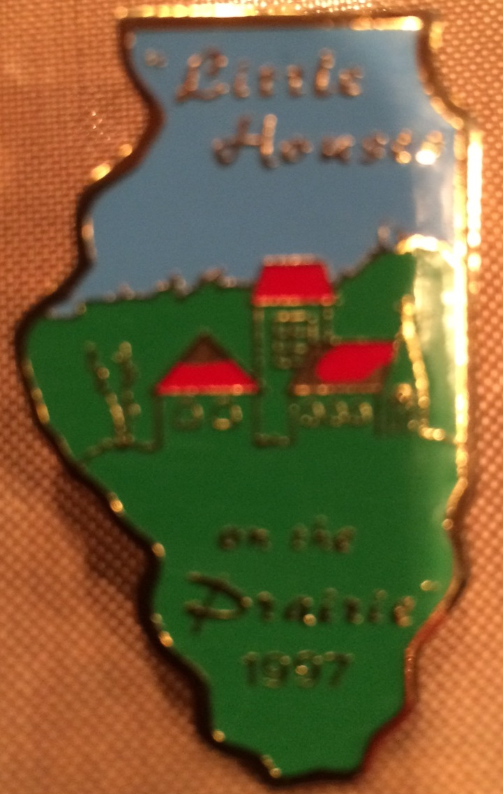 1997 Little Houses on the Prairie Pin
